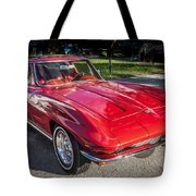 1964 Chevy Corvette Coupe  Tote Bag