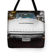 1964 Ford Thunderbird Painted Tote Bag