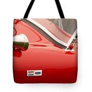 1964 Shelby Cobra 289 Street Roadster Emblem Tote Bag