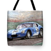 1964 Shelby Daytona Tote Bag