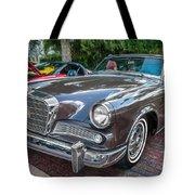 1964 Studebaker Golden Hawk Gt Painted Tote Bag