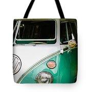 1964 Volkswagen Vw Samba 21 Window Bus Tote Bag