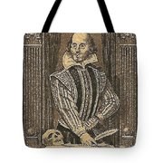 1964 William Shakespeare Postage Stamp Tote Bag