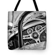 1965 Ac Cobra Steering Wheel Tote Bag