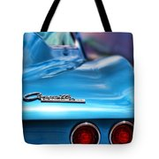 1965 Chevrolet Corvette Stingray Tote Bag
