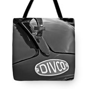 1965 Divco Milk Truck Hood Ornament 3 Tote Bag