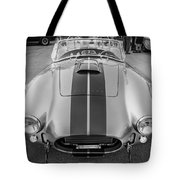 1965 Ford Ac Cobra Replica Painted Bw Tote Bag