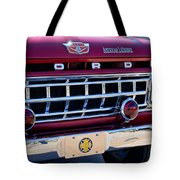 1965 Ford American Lafrance Fire Truck Tote Bag