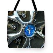 1965 Ford Mustang Wheel Rim Tote Bag