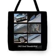 1965 Ford Thunderbird Tote Bag