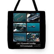 1965 Plymouth Satellite Tote Bag