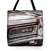 1965 Pontiac Gto Grille Emblem -0442ac Tote Bag