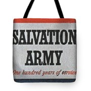 1965 Salvation Army Stamp Tote Bag
