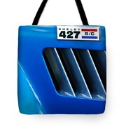 1965 Shelby Cobra 427 Emblem Tote Bag