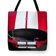 1965 Shelby Cobra Front Grille - Emblem Tote Bag