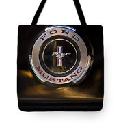 1965 Shelby Prototype Ford Mustang Emblem 2 Tote Bag
