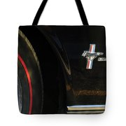 1965 Shelby Prototype Ford Mustang Emblem -0248c Tote Bag