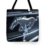 1965 Shelby Prototype Ford Mustang Grille Emblem 2 Tote Bag