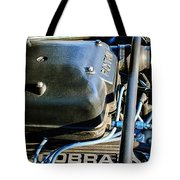 1965 Shelby Prototype Ford Mustang Paxton Engine Tote Bag