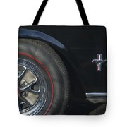 1965 Shelby Prototype Ford Mustang Wheel 2 Tote Bag