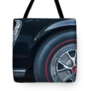 1965 Shelby Prototype Ford Mustang Wheel 3 Tote Bag