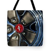 1965 Shelby Prototype Ford Mustang Wheel Tote Bag