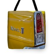 1966 Chevrolet Nova Taillight Emblem Tote Bag