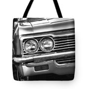 1966 Chevy Impala Ss Convertible Tote Bag