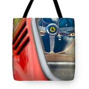 1966 Ferrari 275 Gtb Steering Wheel -0408c Tote Bag