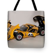 1966 Ford Gt40 - Diecast Tote Bag