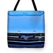 1966 Ford Mustang Front End Tote Bag