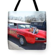 1966 Gto Monkeemobile Tote Bag