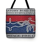 1966 Migratory Bird Treaty Stamp Tote Bag