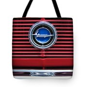 1966 Plymouth Barracuda - Cuda Grille Emblem Tote Bag