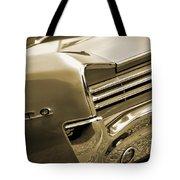 1966 Pontiac Gto Tail In Sepia Tote Bag
