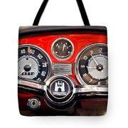 1966 Volkswagen Vw Karmann Ghia Steering Wheel Tote Bag