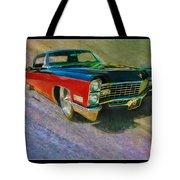 1967 Cadillac Coupe Tote Bag