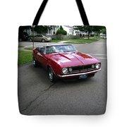 1967 Camaro Ragtop Tote Bag