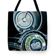 1967 Chevrolet Camaro  Ss Steering Wheel Emblem Emblem Tote Bag