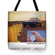 1967 Chevrolet Corvette Tote Bag