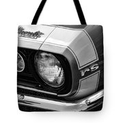1967 Chevy Camaro Rs Tote Bag