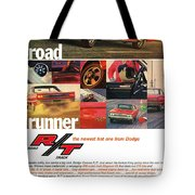1967 Dodge Coronet R/t Tote Bag