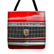 1967 Fiat Abarth 1000 Otr Grille Tote Bag by Jill Reger