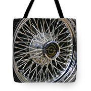 1967 Ford Thunderbird Wire Wheel Tote Bag