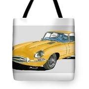 1967 Jaguar X K E Coupe Tote Bag