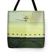 1967 Lincoln Continental Grille Emblem - Hood Ornament Tote Bag