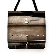 1967 Lincoln Continental Hood Ornament - Emblem Tote Bag