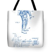 1967 Nasa Astronaut Ventilated Space Suit Patent Art 2 Tote Bag