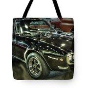 1967 Pontiac Firebird 400 Reverse Selective Color Tote Bag