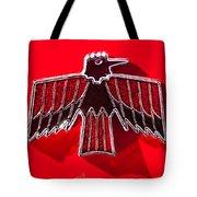 1967 Pontiac Firebird Emblem Tote Bag